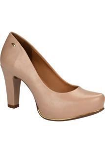 Sapato Scarpin Dakota Salto Alto - Feminino-Nude