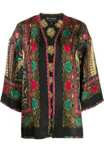 Etro All-Over Print Jacket - Preto