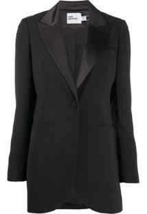 Self-Portrait Blazer Formal - Preto