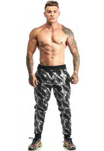 Calça Hardcore Line Skinny Militar Black