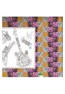 Papel De Parede Autocolante Rolo 0,58 X 5M - Azulejo Disco 286448861