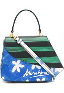 Moschino Blusa De Mão Flounce - Azul