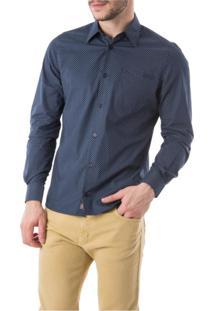 Camisa Oriba Tricoline Poa