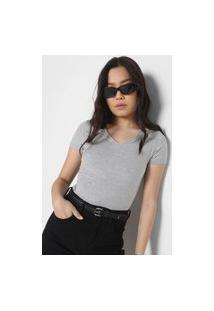 Camiseta Malwee Lisa Cinza