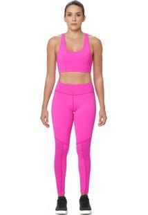 Top La Clofit Stitch Pink