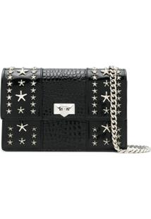 Jimmy Choo Clutch Pyxis - Preto