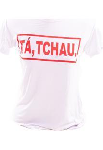 T-Shirt Femme Adulto Prorider Bad Rose Branca Com Estampado Em Vermelho - Branco - Feminino - Viscose - Dafiti