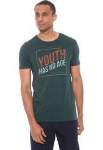 Camiseta Calvin Klein Jeans Youth Verde
