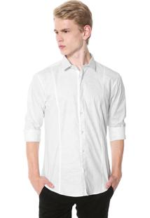 Camisa Calvin Klein Slim Fit Branca