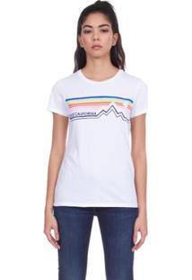 Camiseta Levis Mountain California - Feminino-Branco