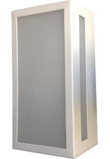 Arandela Metaldomado Box Rasgo Lateral, Branca - 531