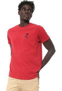 Camiseta Osklen Skate Vermelha