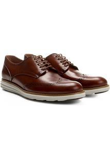 Sapato Casual Couro Reserva Theo - Masculino-Marrom