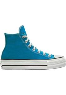 Tênis Converse Chuck Taylor All Star Platform Hi - Feminino-Azul