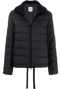 Aspesi Padded Zip-Front Jacket - Preto