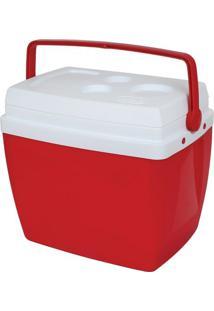 Caixa Térmica Mor 34L - Cooler - Unissex-Vermelho