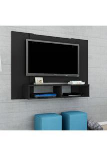 Painel Para Tv Até 48 Polegadas Navi Preto Fosco