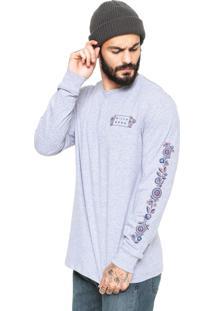 Camiseta Billabong Mandala Cinza