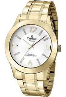 Relógio Champion Feminino Passion Cn28713H - Feminino-Dourado