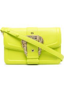 Versace Jeans Couture Bolsa Transversal Com Fivela Barroca - Verde