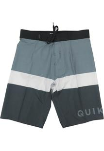 Bermuda Agua Quiksilver Every Day Blocked - Masculino