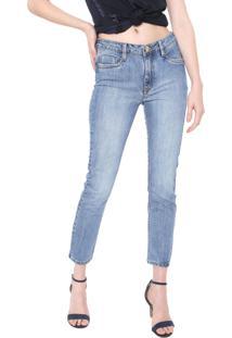 Calça Jeans Carmim Skinny Montreal Push Up Azul