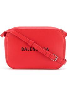Balenciaga Bolsa Tote 'Everyday' Pequena - Vermelho