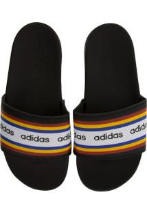 Chinelo Adidas Adilette Comfort Farm - Slide - Feminino - Preto