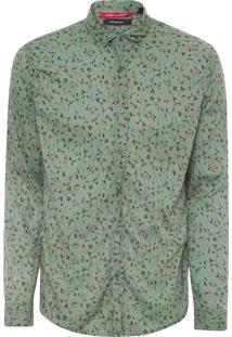 Camisa Masculina Cerrado - Verde
