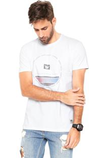 Camiseta Hang Loose Silk Circlestripe Branca