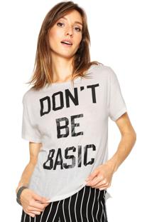 Camiseta Letage Dont Be Bege