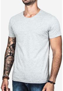 Camiseta Básica Mescla Claro 0199