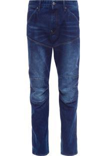 Calça Masculina 3D Tapered – Azul