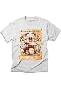 Camiseta Cool Tees Rock Masculina - Masculino-Mescla Claro