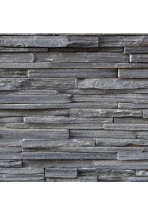 Papel De Parede Adesivo Pedra Canjiquinha Cinza (2,50M X 0,60M)
