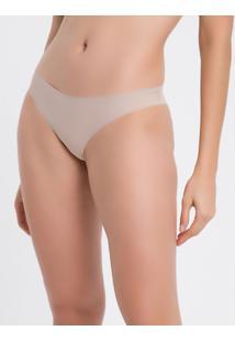 Calcinha Hipster Corte A Laser - Nude - P