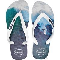 10dfe6e1e4fb Sandália Havaianas Hype Masculina - Masculino-Branco+Azul