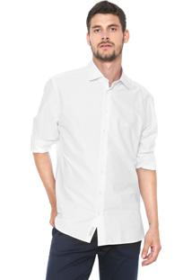 Camisa Dudalina Slim Básica Branca