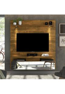 """Painel Para Tv Até 60"""" Luce 100% Mdf 16022 Demolição - Dj Móveis"""