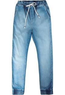 Calça Azul Claro Jogging Flex Jeans Feminina