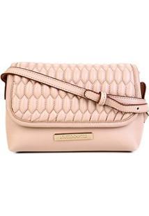 Bolsa Loucos & Santos Mini Bag Matelassê Feminina - Feminino-Rosa Claro
