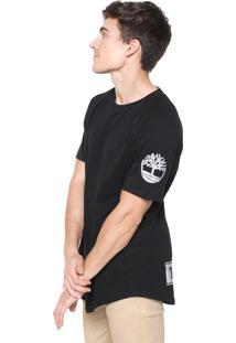 Camiseta Timberland Ss Reflective Non Preta