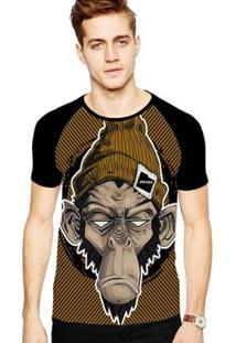 Camiseta Stompy Raglan Modelo 165 Masculina - Masculino