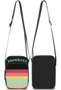 Mini Bolsa Marvs Bag Shoulder Transversal - Unissex-Preto