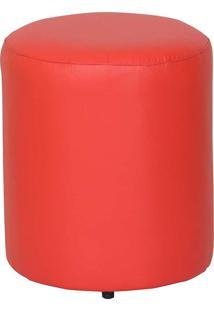 Puff Round Nobre - Stay Puff - Vermelho