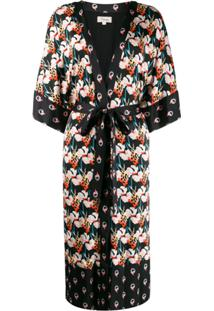 Temperley London Kimono Dragonfly - Preto