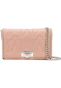 Jimmy Choo Helia Clutch - Rosa