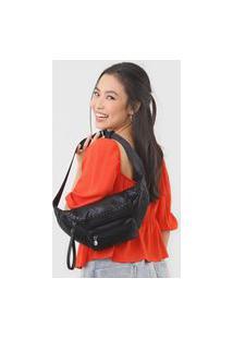 Pochete Desigual Belly Bag Melody Preta