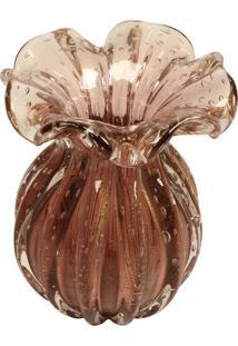 Vaso Decorativo De Murano Viareggio