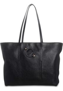 Bolsa Saad Shopper Floater Preto